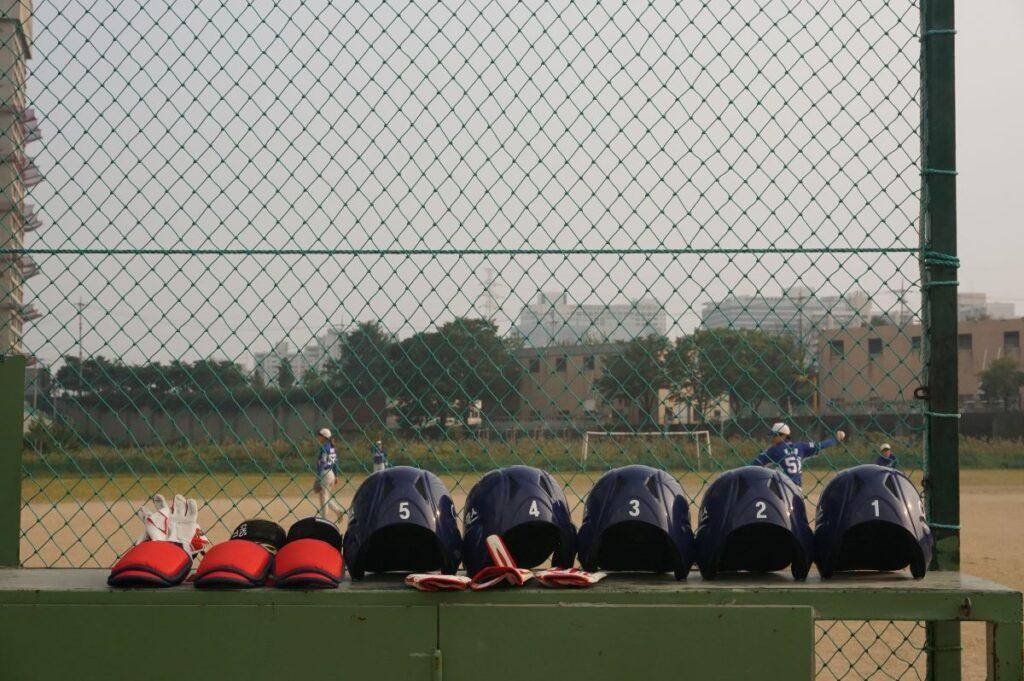 野球ヘルメット