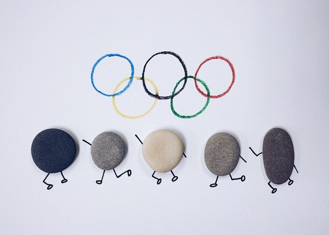 オリンピックキャラクターグッズ画像