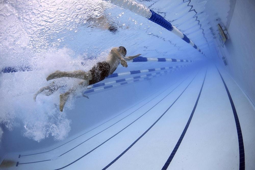 東京オリンピック水泳画像