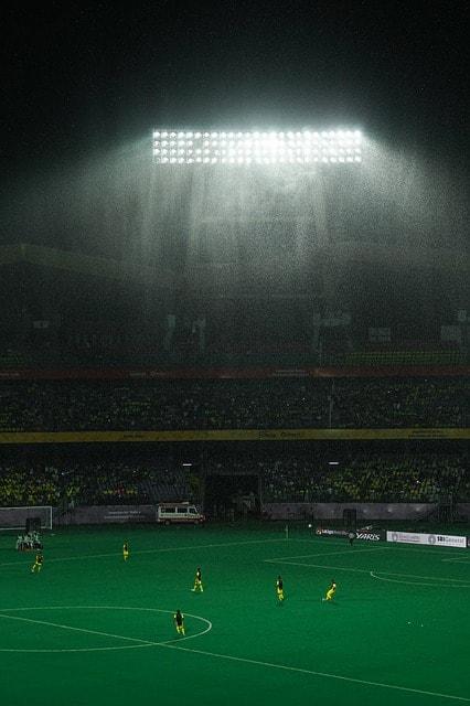 雨スタジアム